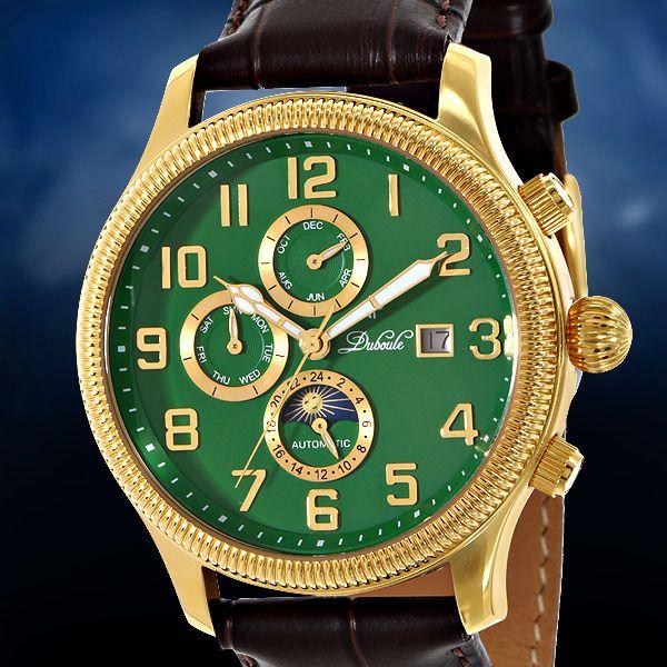 17 best images about men s watches men s watches duboule cambridge automatic multi function mens watch auctions menswawatches