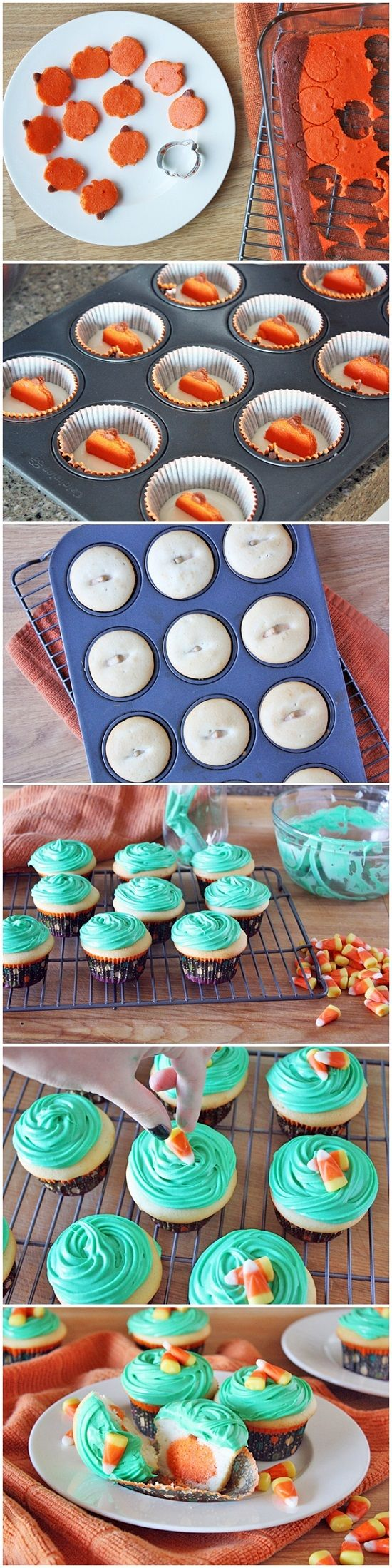 Boo! Jack O' Lantern Cupcakes.  going to do this for school.