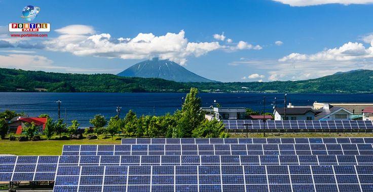 Painéis solares usados são um grande desafio para o Japão.