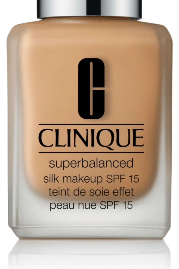 Find your perfect foundation for balanced skin. Feel naked, yet covered to perfection. Control oil, yet hydrate where needed. Protect with SPF. Oil-free. Sheer to moderate coverage. Natural-matte finish. Ideal for Dry Combination to Oily Skin Types. Meet new Clinique Superbalanced Silk Makeup SPF 15. Perfect balance every day.