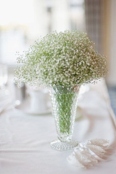 baby's breath centerpiece - Mi.Amore.Foto