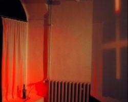 Licht/Rauminstallation zu Goethe Farbenlehre 1999