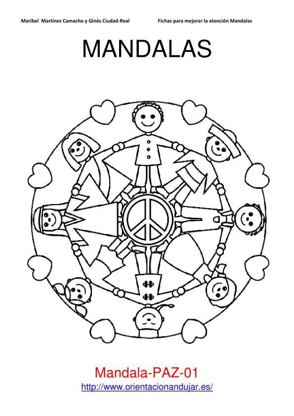 Mandala enfants #mandala #mandalas #coloriage