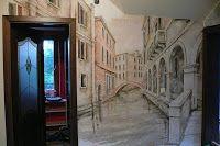 Artystyczne malowanie ścian, malarstwo dekoracyjne, mural, malowidła 3D, fresk, pokoje dziecięce: Aranżacja korytarza