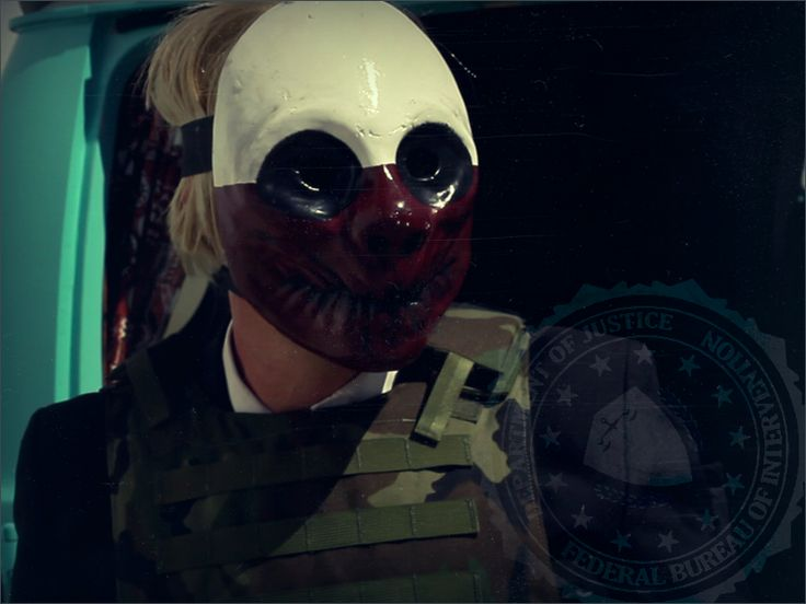 Wolf is a Technician from Vallentuna, Sweden and a playable character in the PAYDAY series. He wears the white and red demon mask, and is voiced by Ulf Andersson. A law-abiding citizen for most of his 32 years in life, Wolf raised his family in Stockholm until the economic slump in the 2000's. Wolf's software development company lost many clients, continuing with only one client who had cold feet and withheld payments.