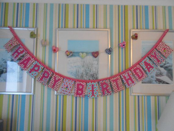 Check out this item in my Etsy shop https://www.etsy.com/listing/220522652/bright-happy-birthday-pom-pom-trim