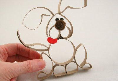 Tutorials: Paper Roll Puppy