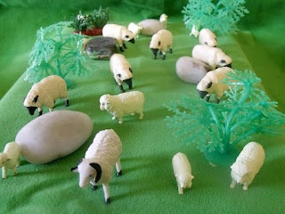 Parable of the Lost Sheep Visual Aid