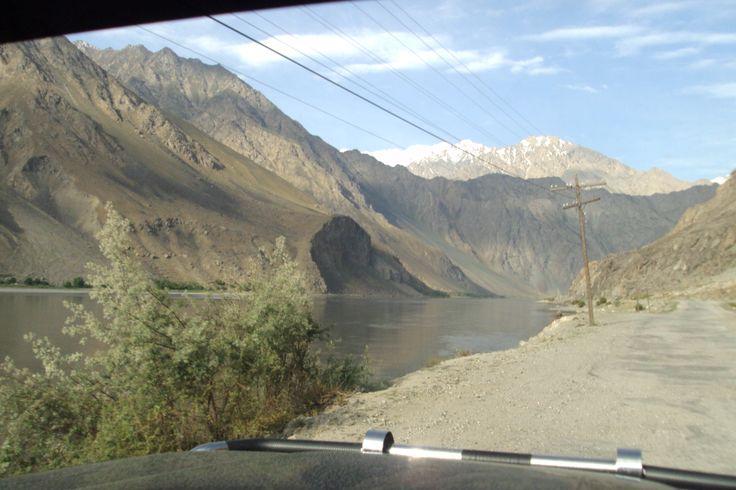 на другом берегу - Афганистан