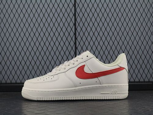 IKE Air Force 1 Color Matching Milk White Red Low Help-10567262 Whatsapp 86  17097508495 3c66a0ef36
