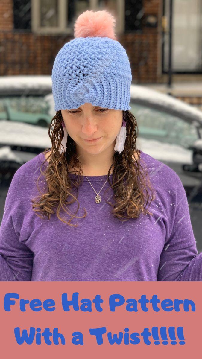 Twisted Mini Bean Hat Llama Unraveled Single Crochet Decrease Hat Pattern Crochet Decrease