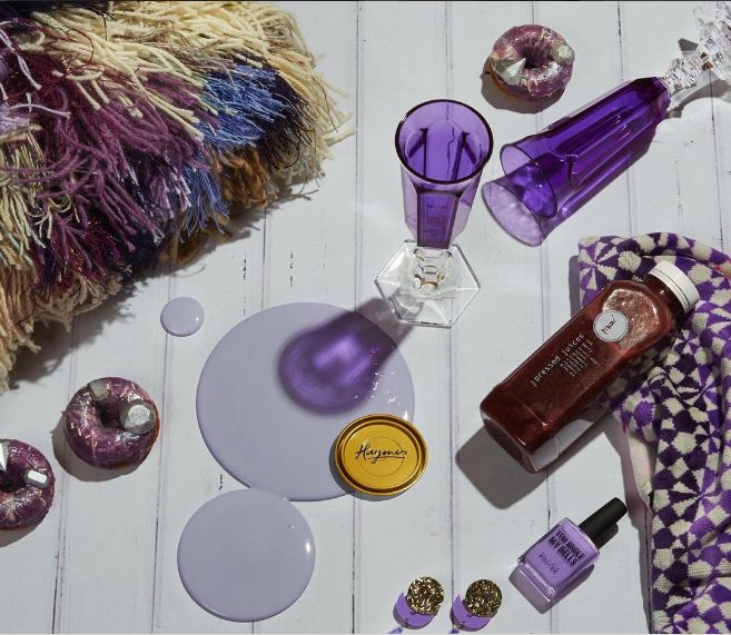 Nothing embodies luxury like our Tiffany purple.  Colour is Haymes Tiffany Styling by LENZO + Photography by Fiona Storey
