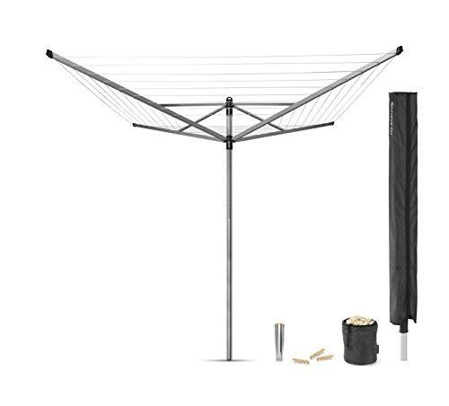 #4: Brabantia Lift-O-Matic Rotary Airer with Accessories 50 m  Silver Brabantia Lift Matic Rotary Accessories ranks among the best of the best selling products in Kitchen  category in UK. Click below to see its Availability and Price in YOUR country.