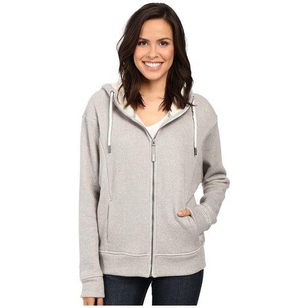 Bench Gain Marled Sweatshirt (Grey Marl) Women's Sweatshirt (£63) ❤ liked on Polyvore featuring tops, hoodies, sweatshirts, gray sweatshirt, long sleeve hoodie, sweatshirt hoodies, bench hoodies and grey hoodie
