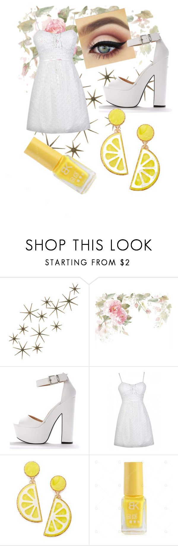 """Lemon Lover 🍋"" by sarah-bailey-v ❤ liked on Polyvore featuring Global Views and Celebrate Shop"