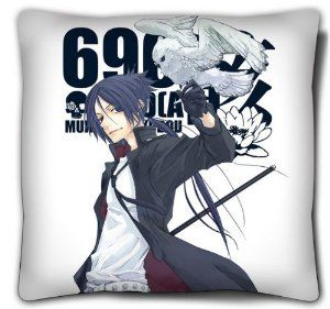 Japanese Anime Double-Sided HitmanReborn Pillow/cushion, Rokudo Mukuro pillow by Victoria's Deco. $18.99. Material: polyester peach skin (FACE). Size: 15.7 inches x 15.7 inches. The pillow will be shipped out by Register Mail, Email us if you need Express Shipping.. Inner Material:made of memory fabric,with high quality. The pictures are on the two sides of the pillow. please make sure you buy it from Victoria's Deco. This is a very creative gift for HitmanReborn fans.. Save 46% Off!