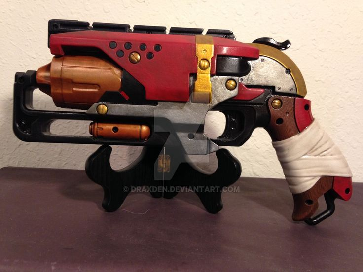 Custom Painted Nerf Hammershot