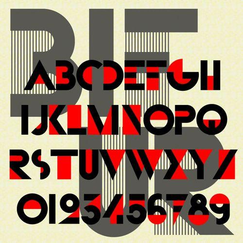 'Bifur' designed by A. M. Cassandre