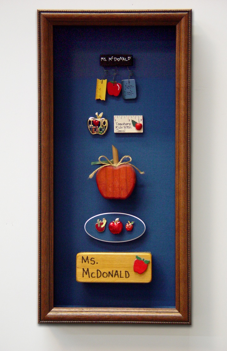 Athens Art Frame Teacher Appreciation Shadow Box