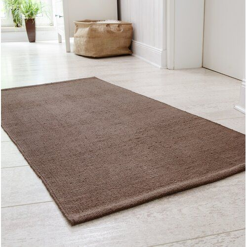 Doylestown Hand Woven Cotton Taupe Rug 17 Stories Rug Size Rectangular 100 X 150cm Taupe Rug Brown Shag Rug Pink Rug