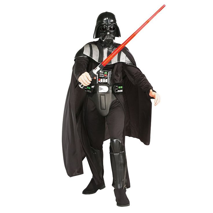 Star Wars Darth Vader Deluxe Costume - Adult/Adult Plus, Men's, Black