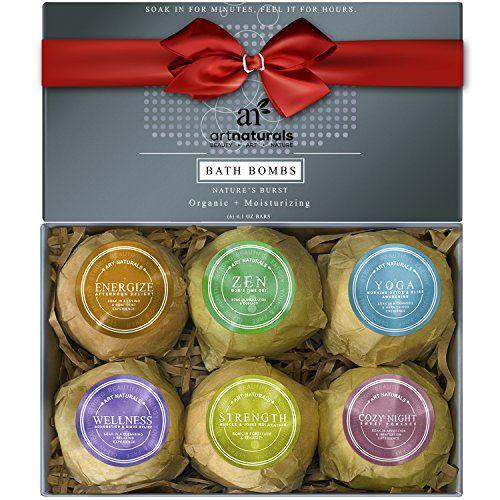 ArtNaturals Bath Bombs Gift Set - Ultra Lush Essential Oi...