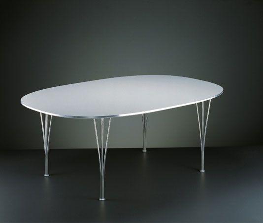 Superellipse Table, Piet Hein