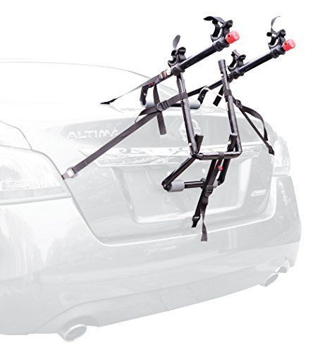 Car Bike Rack Trunk Mount 2 Bicycle Transport Travel Biking Sedan Van Bike Rack #AllenSports