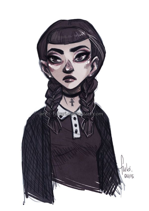 Miss Addams by Fukari on DeviantArt
