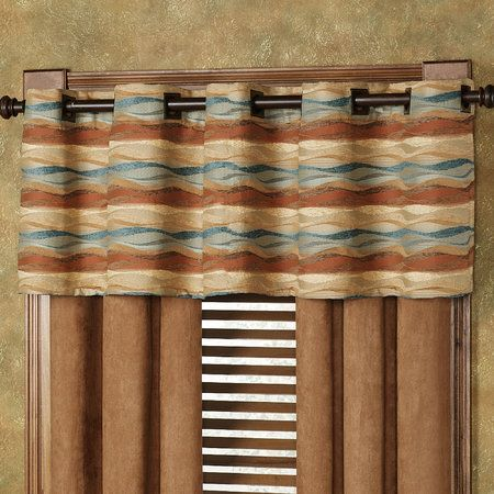 Touch Of Class Southwest Curtain Valance Southwest Colors Pinterest Curtain Valances
