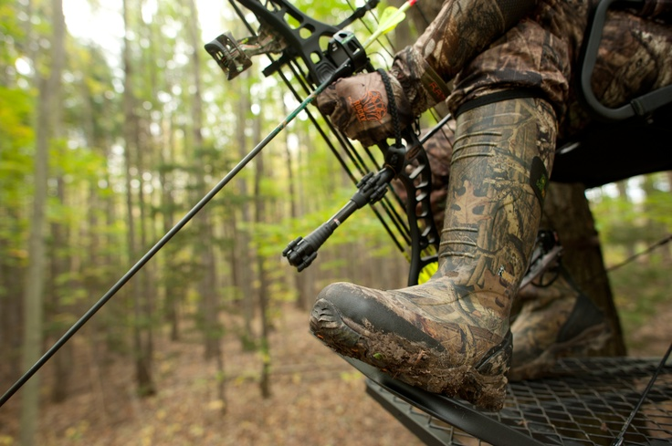 rocky mudsox and rocky athletic mobility gloves outdoors on uninsulated camo overalls for men id=61239