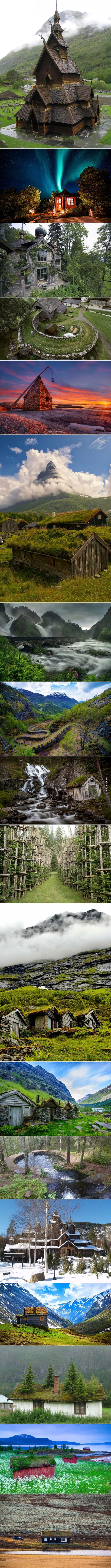 Norway..land of trolls and beautiful architecture - 9GAG