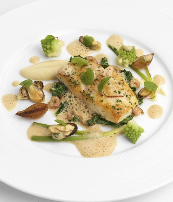 A wintry seared turbot recipe from Geoffrey Smeddle feels both achievable and extravagant, give it a go when you're in need of cheering up in the winter months.