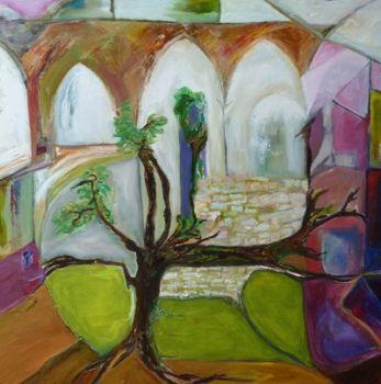 French Vine Abbey  Artist: Heckel, Ulla  Artwork title: French Vine Abbey
