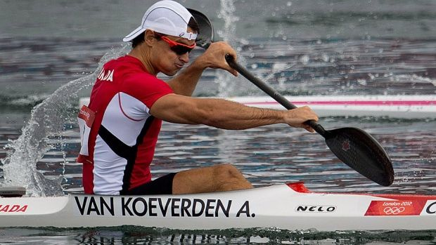 Canadian kayaker Adam van Koeverden leads an experience paddling contingent heading to the Rio Olympics. © Sean Kilpatrick/Canadian Press/File - Canada names experienced Olympic canoe-kayak team