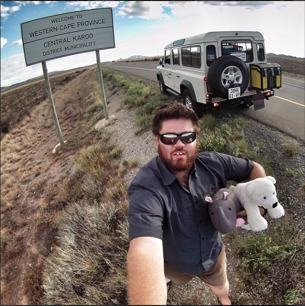 Crossing into the #WesternCape with my @LandRover #Defender, #CelebratingDefender....... fitted with a #OutbackExtreme Wheel Carrier