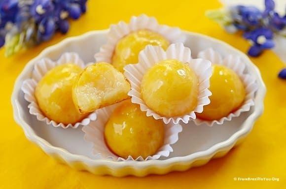 Glass Bonbons Bala De Vidro Recipe Food Fudge Food Drink
