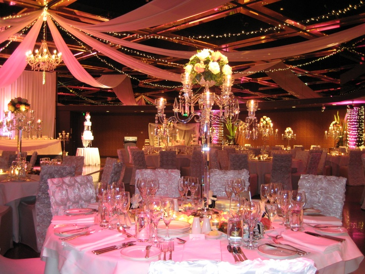 19 best images about world of weddings ballroom for Ball room decoration