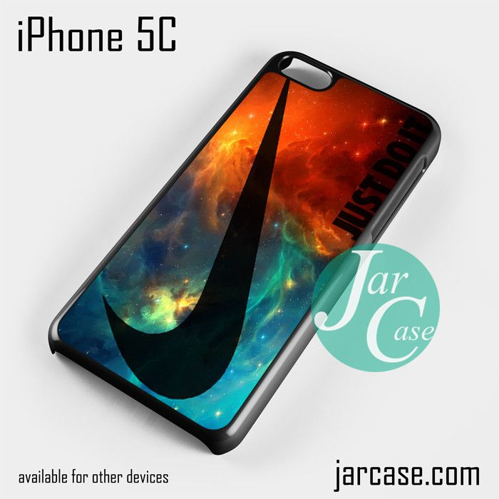 Just Do it Nike Original Nebula Phone case for iPhone 5C and other iPhone devices