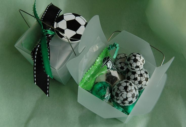 Cute end of the year gift boxes for youth teams!