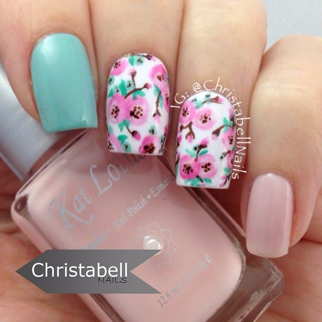 nails.quenalbertini: Instagram photo by christabellnails   ink361
