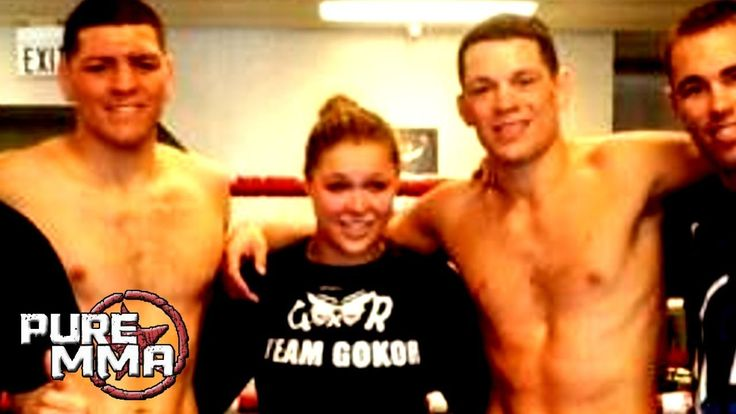 Nate Diaz on training with Ronda Rousey: 'I didn't get tapped out'