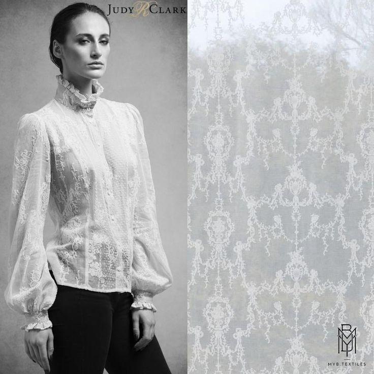 роскошная #блуза в викторианском стиле, дизайнер @judyrclark1, #мадрас @mybtextiles1900 #fabric #fashion #luxury