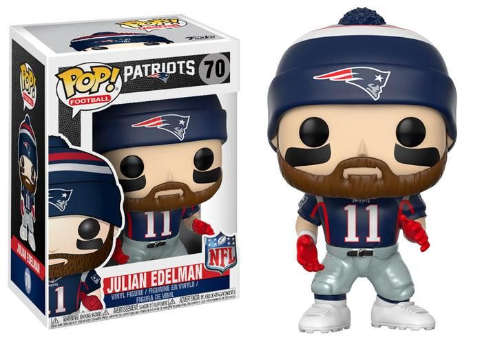 POP! NFL # 70: New England Patriots: JULIAN EDELMAN (Home)