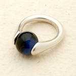 Interchangeable marble ring