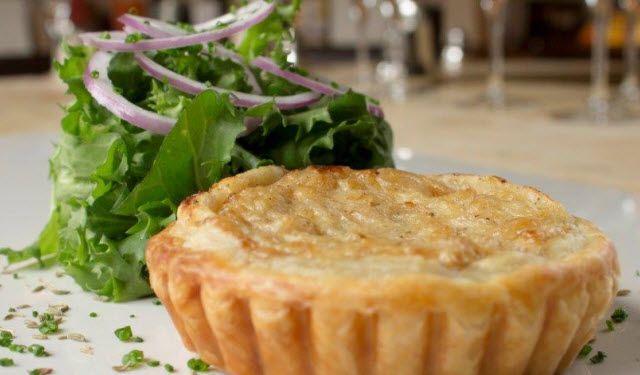 Onion Tart | Maille – Mustard, Dijon, Whole Grain Mustard, Honey Mustard, Horseradish, Cornichons