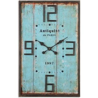 Shop for Uttermost Antiquite Blue Wall Clock. Get free shipping at Overstock.com - Your Online Home Decor Outlet Store! Get 5% in rewards with Club O! - 16896026