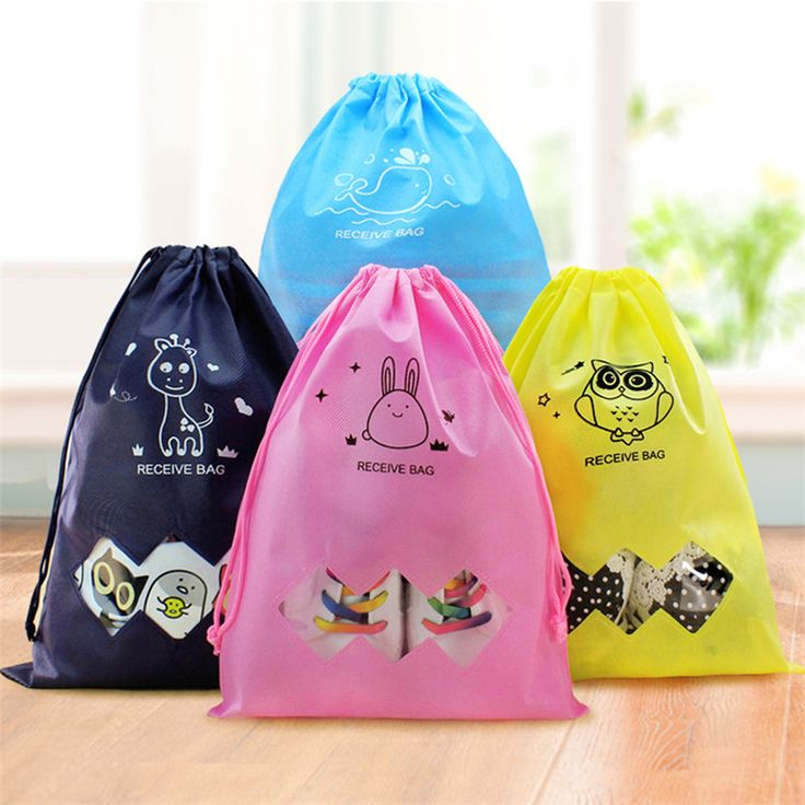 TTLIFE High Quality Colorful Waterproof Clothing Receive Bag Travel Drawstring Pouch Clothing Bag for Home Organizer