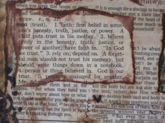 Faith definition essay