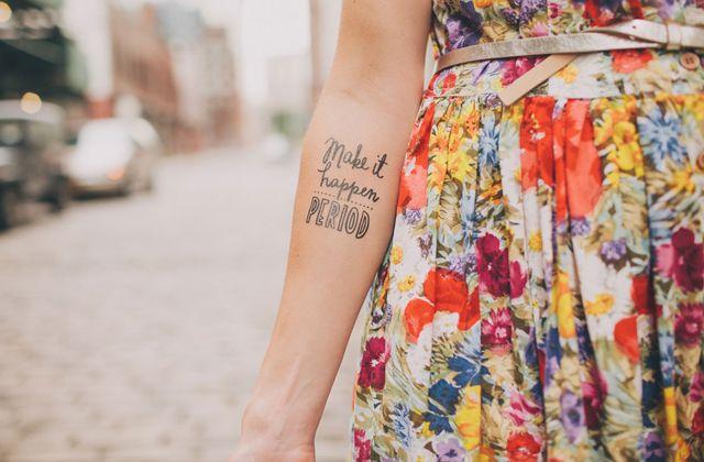 Calcomanía de Tattly #calcomanía #tattoo